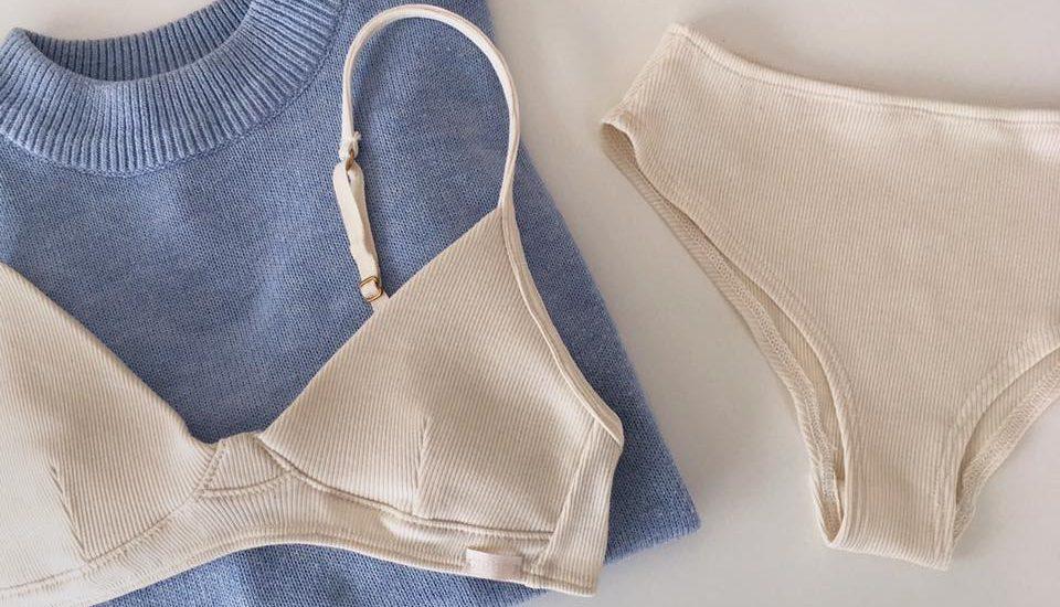 Créeme spodné prádlo - bio organická bavlna