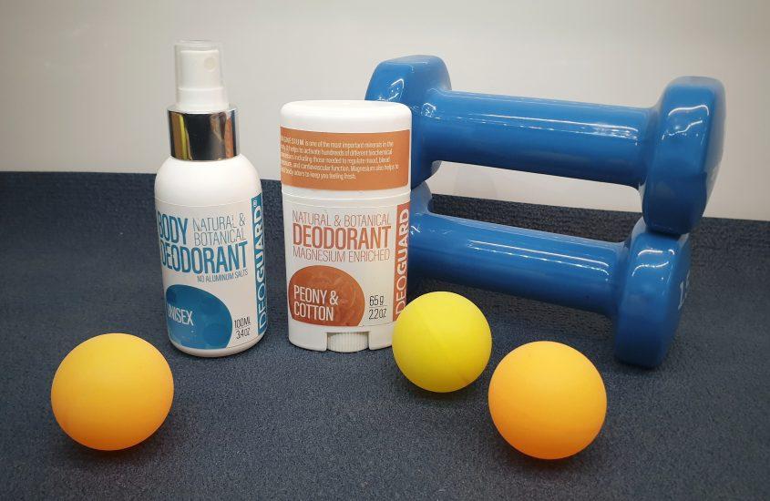 Prírodné dezodoranty DEOGUARD - recenzia